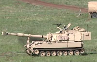 M109 Howitzer Live Fire Exercise
