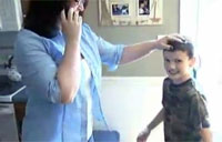 Boy Gives Dream Trip to Soldier