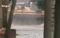 Syrian BMP Rocked by Rebel RPG