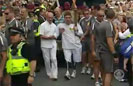 Wounded Vet Carries Olympic Torch