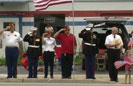 Chiefland Locals Pay Respects to Fallen