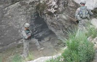 Clearing a Cave with a Hand Grenade