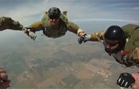 SERE HALO Jump from C-17