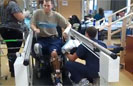 Inspired: Wounded Troop Stands Again