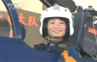 China's Female J-10 Fighter Pilots