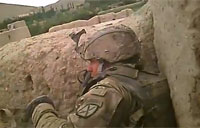 Firefight in Chak Valley, Afghanistan