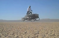 Insanely Cool New Hover Vehicle