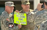 Music to My Ears, Troops Return Home