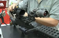Smart Machine Gun Optic Mount