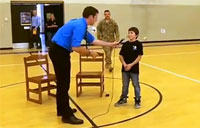 Kid Gets Best School Assembly Ever!