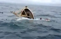 Fishermen Rescued from Sinking Boat