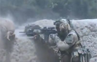 French Paratroopers Battle in Kapisa