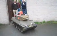 Father Builds His Son a Tank!