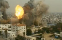 Israel Slams Gaza Again with Air Strike