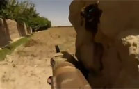 SpecOps Engage Enemy in Afghanistan