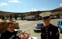 US Marine Makes His Own Mother Cry