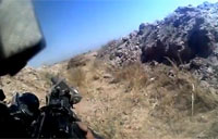 USMC Firefight with Taliban in Marjah