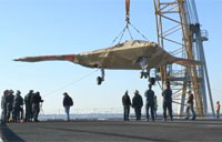 X-47B Delivered to USS Harry Truman