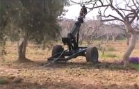 Rebels Concoct Homemade Cannon