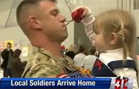 60 Soldiers Leave, 60 Return Home