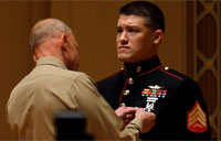 Marine Vet Awarded Silver Star