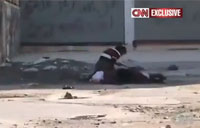 Syrian Boy Risks Life to Save Woman