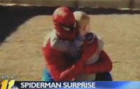 A Spiderman Surprise from Afghanistan