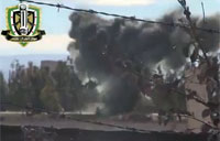 FSA Hits Army Carrier with Land Mine