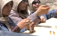 Afghan Female Forces Fight Prejudice