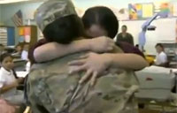 Soldier Mom Surprises Daughter After 1yr