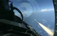 F-15 Eagles Live Fire Missile Training