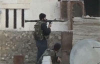 Syrian Rebel's RPG Fails in the Worst Way