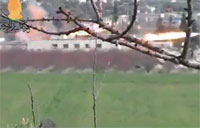 Huge Explosion Rocks SAA Tank