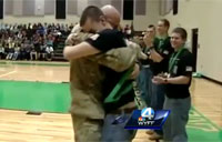 Tears of Joy from Soldier's Son