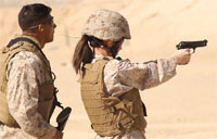 Spouses Go Through USMC Training
