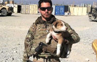 War Vet Reunites with Afghan Pup