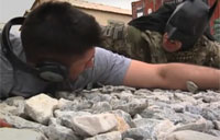 Bagram Batman vs. Headphones Guy