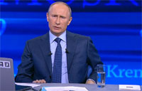 Putin Talks About Boston Blasts