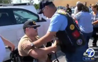 Injured Marine Gets Hero's Welcome