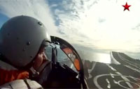 MiG-29 Jet Fighter Cockpit Camera