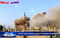SAA and Hezbollah Attack Rebels