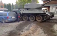 'Compact Parking' in Russian Army