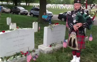 Marine Corps Hymn on Bagpipes