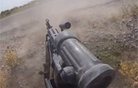 Taliban Ambush from Gunner's POV