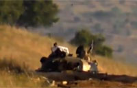FSA Rebels Destroy Tank with SPG-9