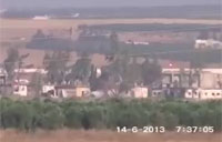 Anti-Tank Missile Destroys Assad Tank
