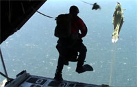 Air Force PJs Conduct RAMZ Jump