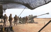 155mm M777 Lightweight Howitzers