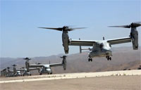 Ospreys Move a Battalion of Marines