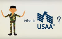 Who is USAA?